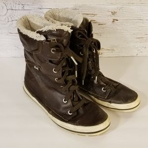 KED's lace up boots
